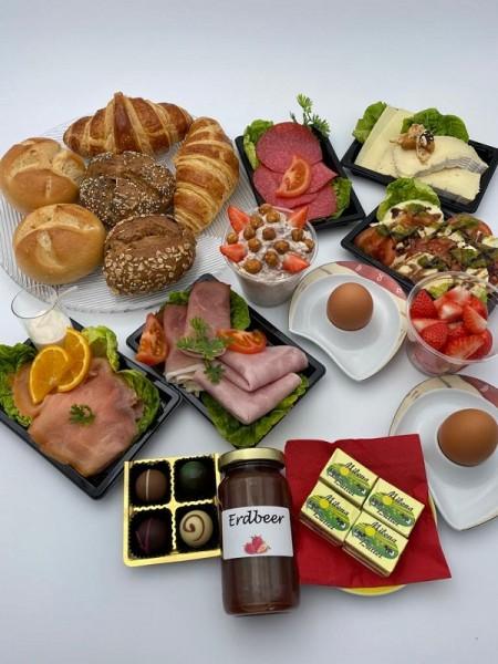 Klassische Frühstücksbox