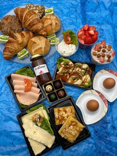 Vegetarische Frühstücksbox